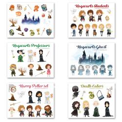 Набор стикеров по миру Гарри Поттера