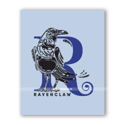 Открытка буквица Ravenclaw