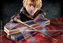 Оригинальная волшебная палочка Рона Уизли в коробке Олливандера