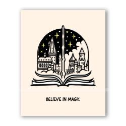Открытка «Верь в магию»