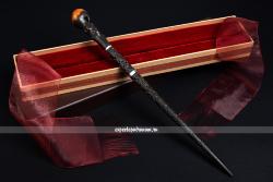 Оригинальная волшебная палочка Аластора Грюма в коробке Олливандера