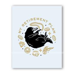 Открытка  «Мой пенсионный план»