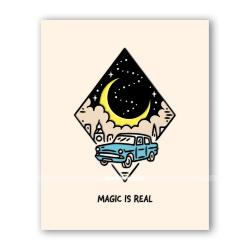 Открытка  «Магия существует»