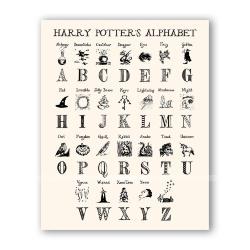 Открытка Волшебный алфавит
