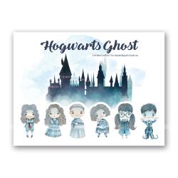 Стикеры «Привидения Хогвартса»