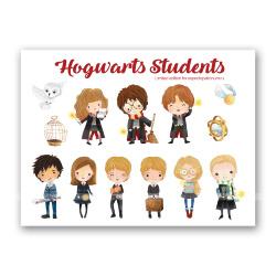 Стикеры «Студенты Хогвартса»
