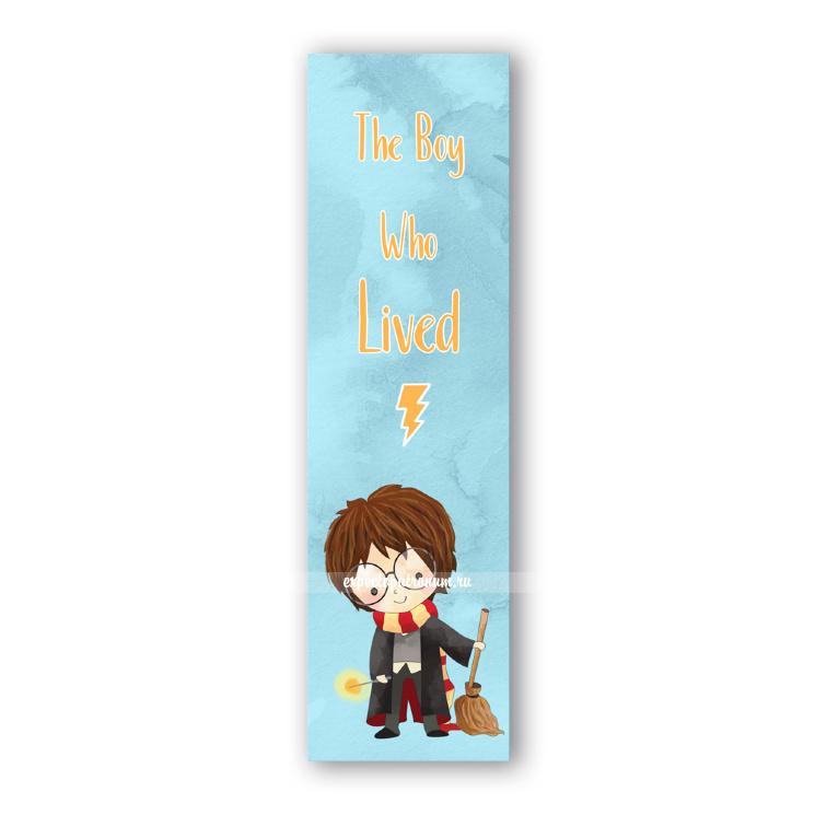 Закладка «Мальчик который выжил»