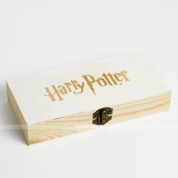 Деревянная коробка Harry Potter