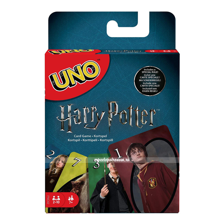 Настольная игра UNO Гарри Поттер