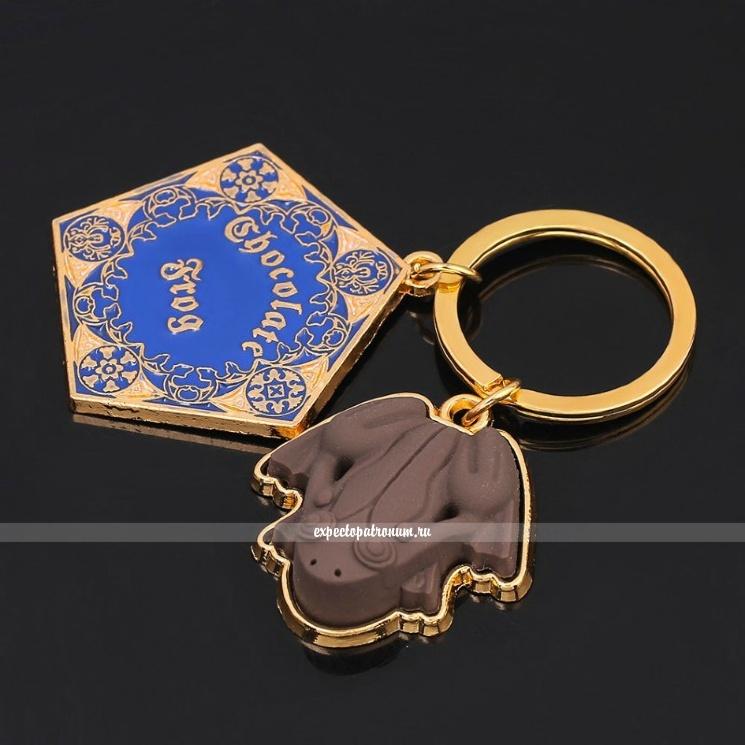 Брелок Шоколадная лягушка