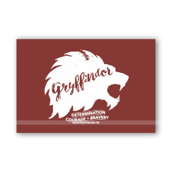 Открытка Gryffindor Brush