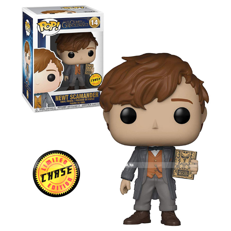 Funko POP! Newt Scamander Chase «Fantastic Beasts 2: The Crimes of Grindelwald»