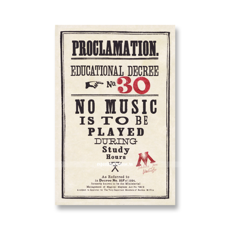 Прокламация №30