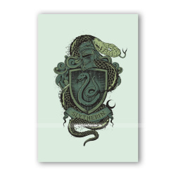Открытка Slytherin Vintage