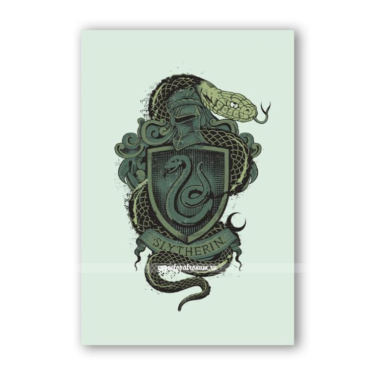 Открытка Slytherin Vintage