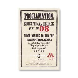 Прокламация №98