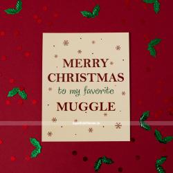 Открытка Merry Christmas Muggle