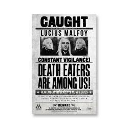 Постер Пойман Люциус Малфой