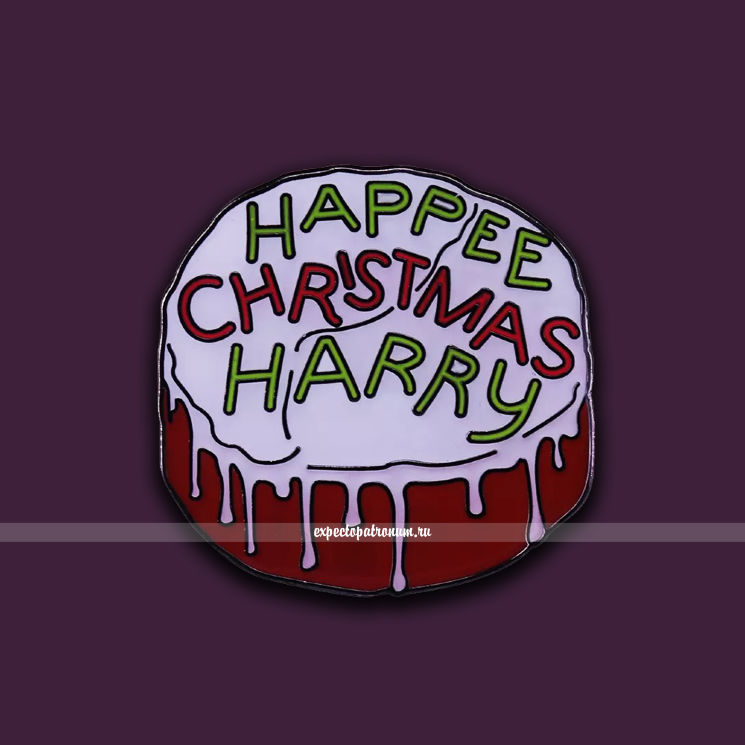 Пин Рождественский торт Гарри Поттера