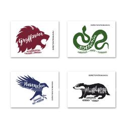 Наклейки для техники с символами факультетов Хогвартса